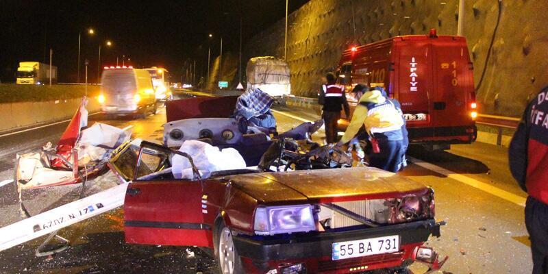 Bolu'da kaza: 3 kişi öldü 2 kişi yaralandı