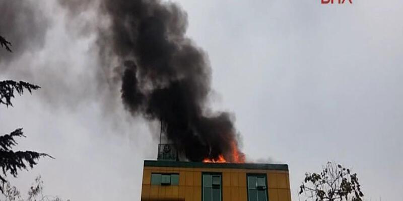Kağıthane'de yangın çıktı