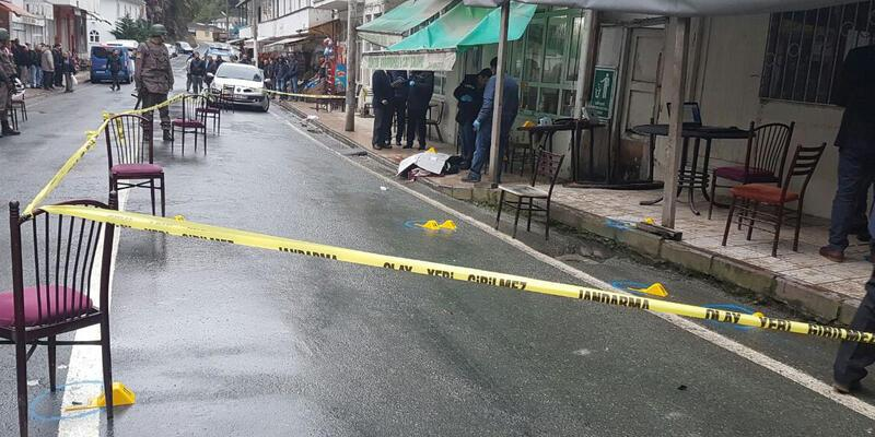 Rize'de kahvehane tarandı, 3 kişi öldü