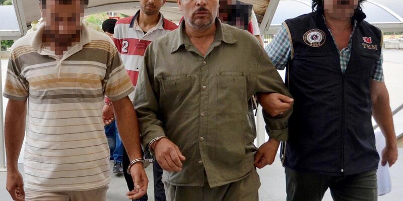 Antalya'da bombalarla yakalanan DEAŞ'çılara 3-12 yıl arası ceza