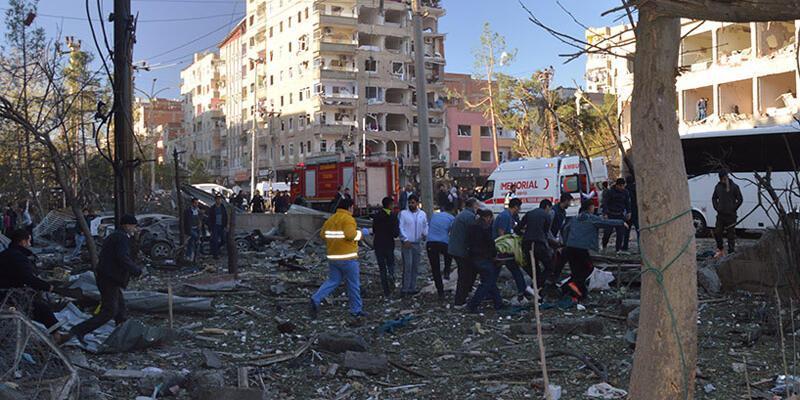 Diyarbakır'da çok büyük patlama