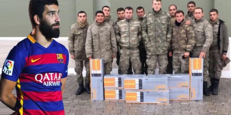 TSK Arda Turan'ın gönderdiği ısıtıcıları iade etme kararı aldı