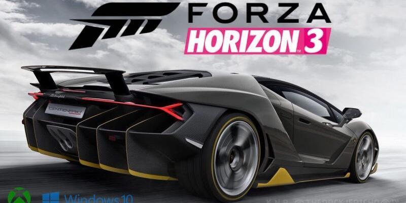 Forza Horizon 3'ün betası yayınlandı!