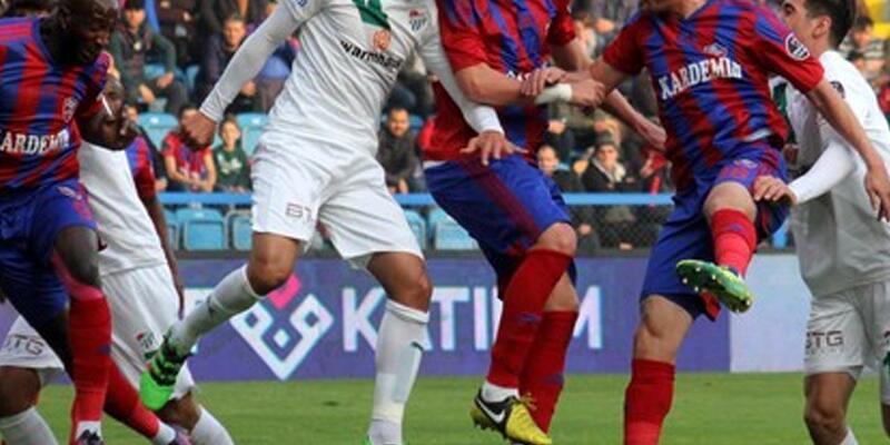 Kardemir Karabükspor 0 - Bursaspor 0