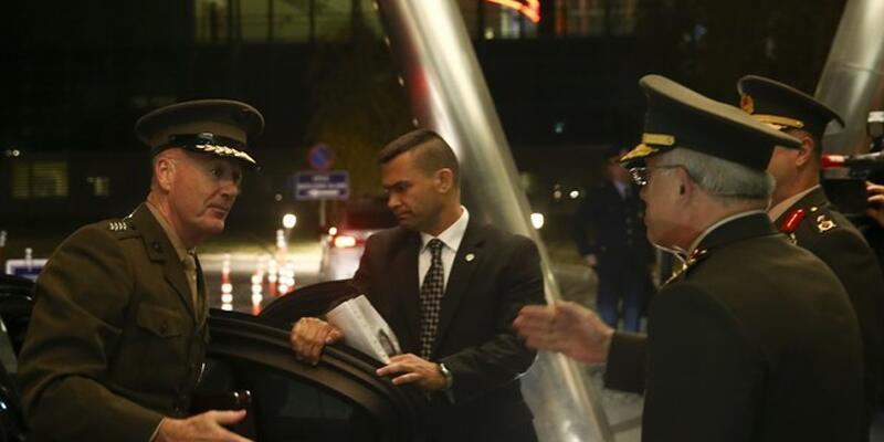ABD Genelkurmay Başkanı Dunford Ankara'da