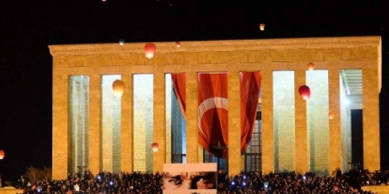 TSK'dan 10 Kasım açıklaması: Anıtkabir'de 1881 dilek feneri