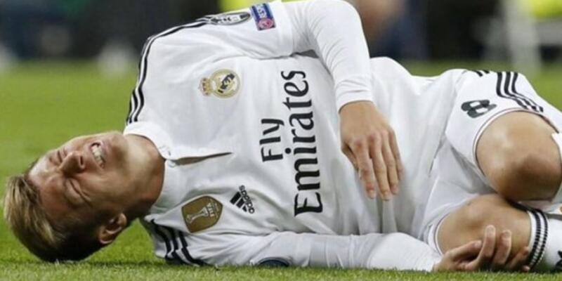 Real Madrid'de Kroos şoku: 3 ay yok