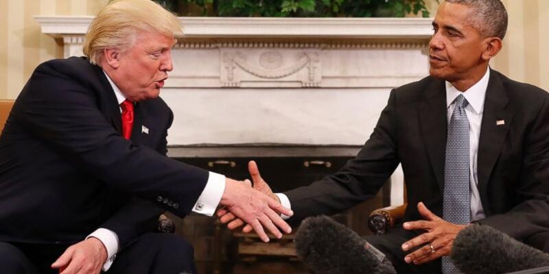 ABD Başkanı Obama, yeni başkan Donald Trump ile görüştü