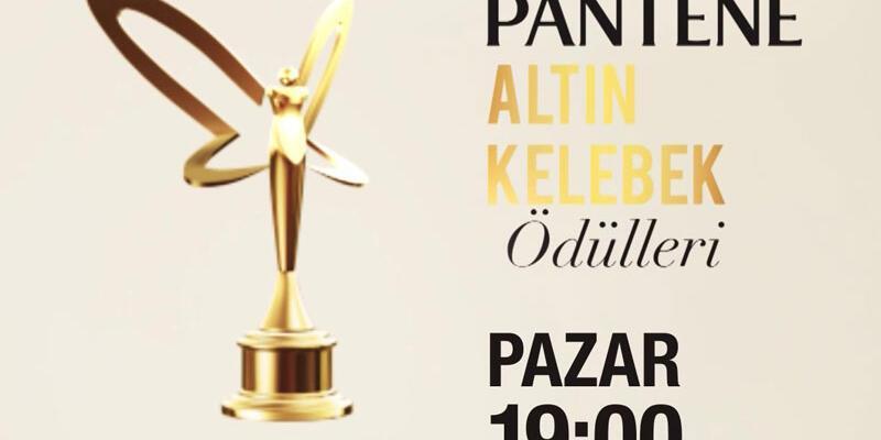Pantene Altın Kelebek Ödülleri CNN TÜRK ve KANAL D'de
