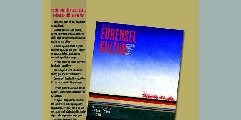 Ayrıntı Dergi'den Evrensel Kültür'le Özel Dayanışma Sayısı