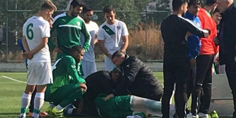 Bursaspor'da şok: Diz kapağı kırıldı