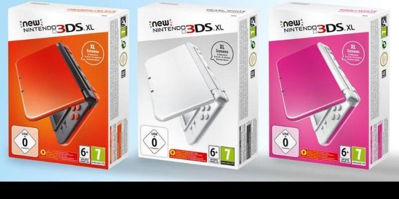 Nintendo New 3DS XL için yeni renk seçeneklerini sundu