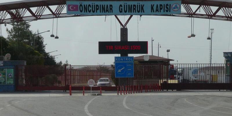 Öncüpınar Sınır Kapısı'nda geçişler durduruldu