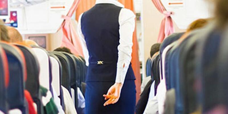 Hostesin eteğini kameraya çeken yolcuya para cezası