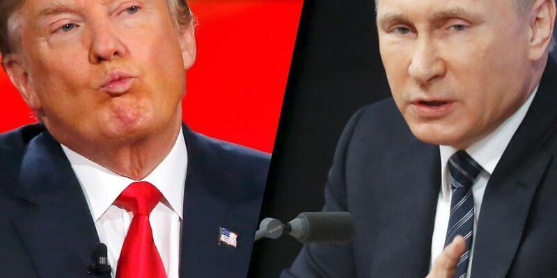 Donald Trump, Vladimir Putin ile görüştü