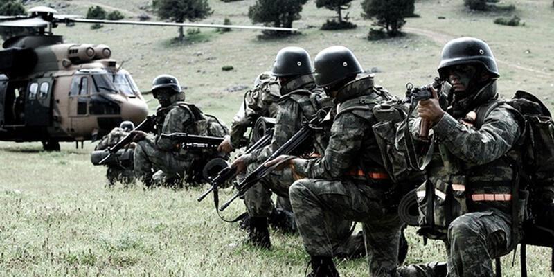 Tunceli'deki PKK kamplarına hava operasyonu