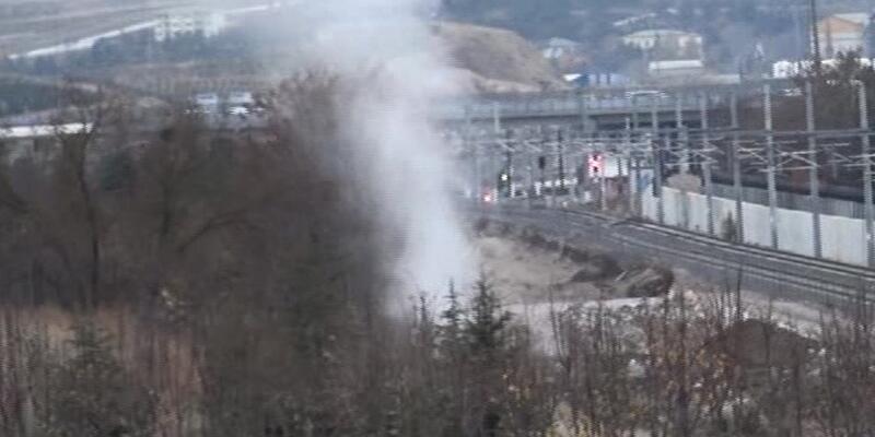 Ankara'da doğalgaz paniği