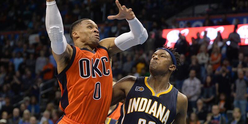 Westbrook'un çabası Thunder'a yetmedi