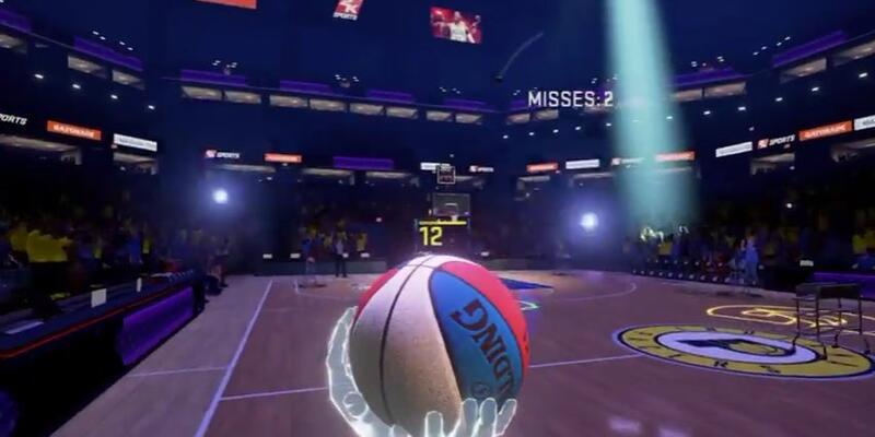 NBA 2K VR Experience için tanıtım videosu yayınlandı