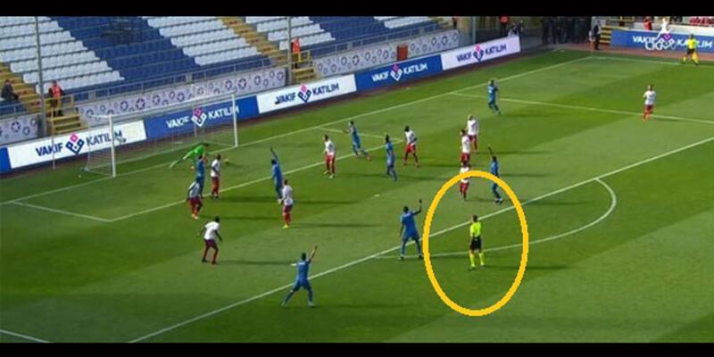 Kasımpaşa - Karabükspor maçındaki kural hatasıyla ilgili çarpıcı gelişme