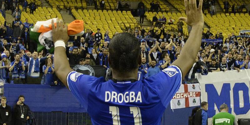 Drogba sosyal medyayı salladı