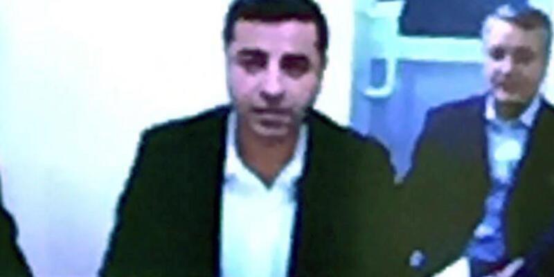 Demirtaş SEGBİS ile ifade verdi: Dokunulmazlığım devam ediyor