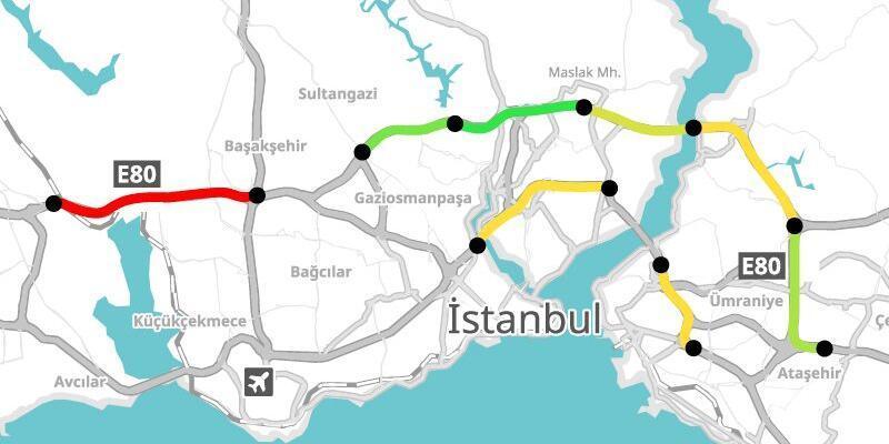 İstanbul trafiğini bir de Yandex'den dinleyin