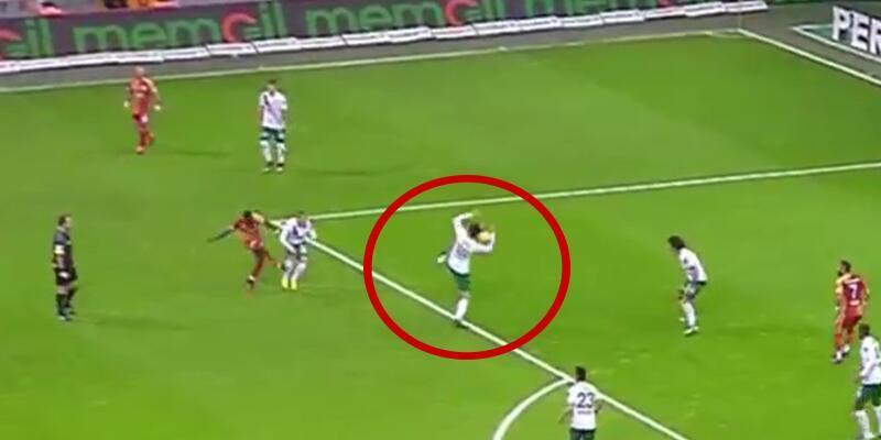 Galatasaray isyanda! Penaltı itirazı...