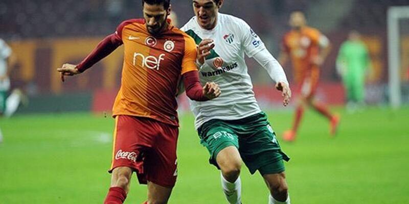 Galatasaray, Bursaspor'u 3 golle geçti: 3-1