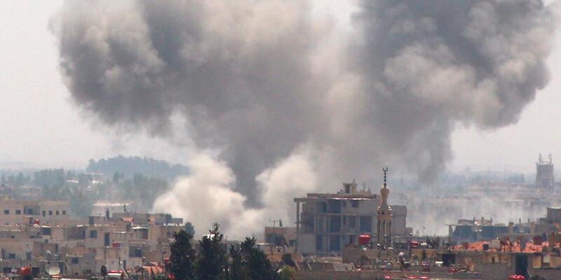 PYD'nin askeri kampında şiddetli patlamalar