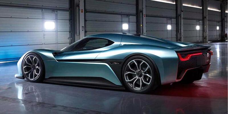 Dünya'nın en hızlı elektrikli otomobili!