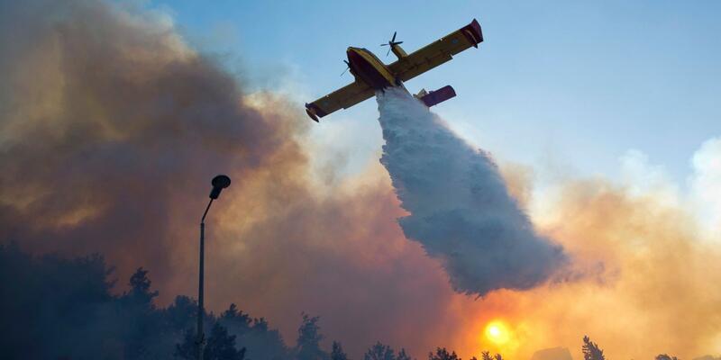 İsrail yangınlarla provokasyon yapıyor