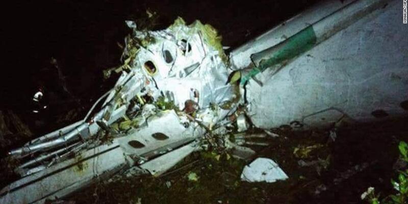 Kolombiya'da yaşanan uçak kazasında 76 kişinin öldüğü doğrulandı
