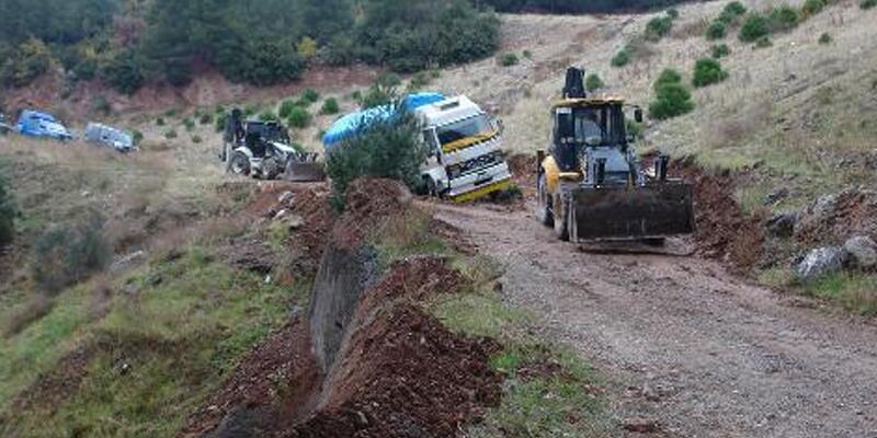 Gaziantep'te 30 bin litre ham petrol çalındı