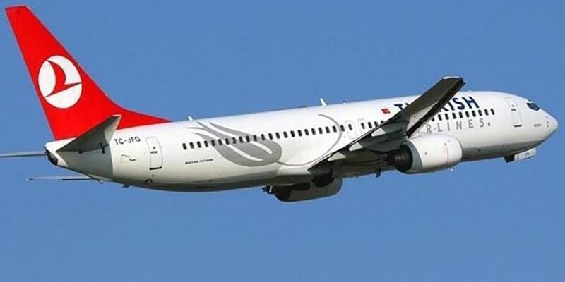 Sorunlu karı koca uçağı geri döndürdü