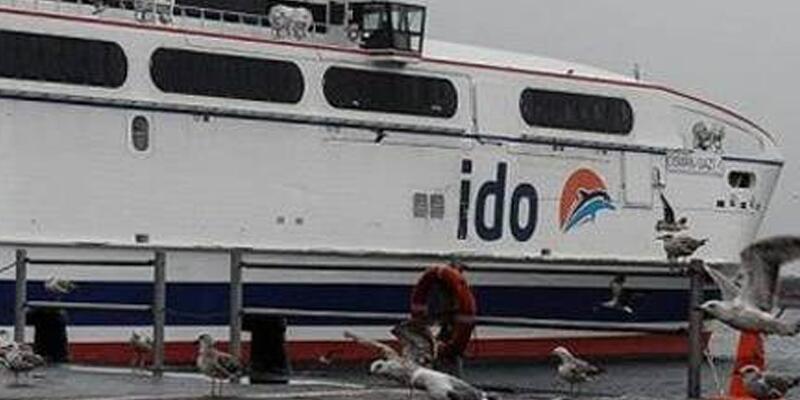 Yoğun kar ulaşımı vurdu: İDO'dan sefer iptalleri