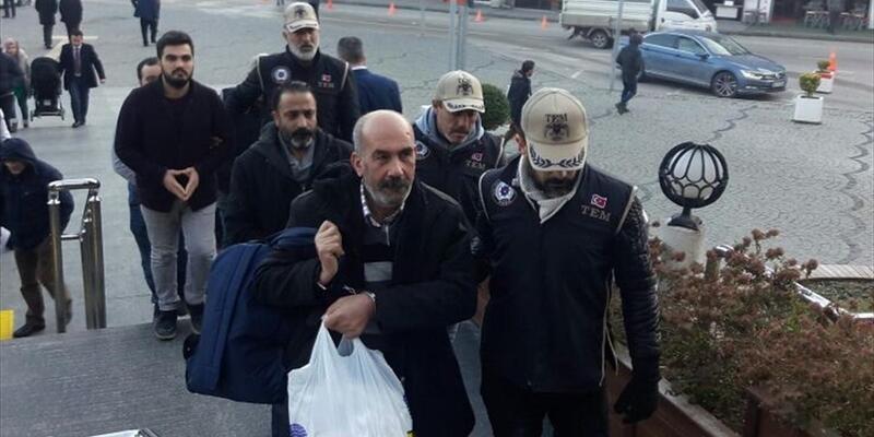 Bursa HDP ilçe başkanları adliyeye sevkedildi