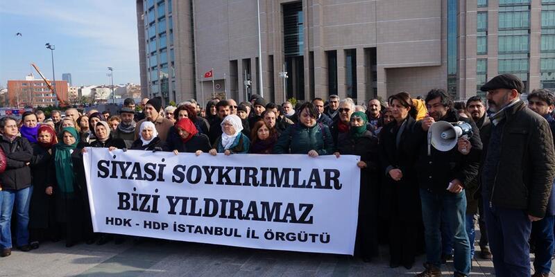 HDP'lilerden gözaltı açıklaması