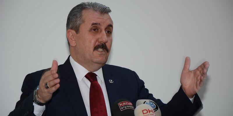 BBP Genel Başkanı Destici: PKK büyük bir hazırlık içerisinde