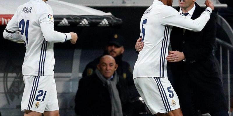 Real Madrid Sevilla karşısında zorlanmadı