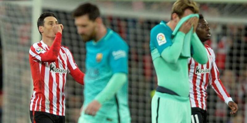 9 kişi kaldılar ama Barcelona'yı devirmeyi başardılar