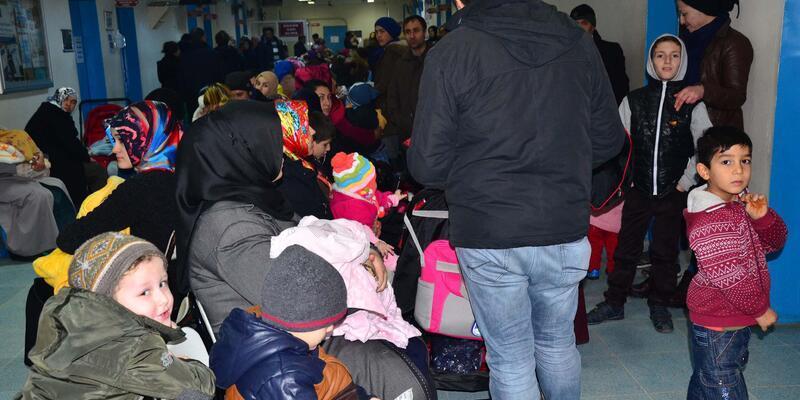 Hastaneye 15 günde 15 bin çocuk başvurdu