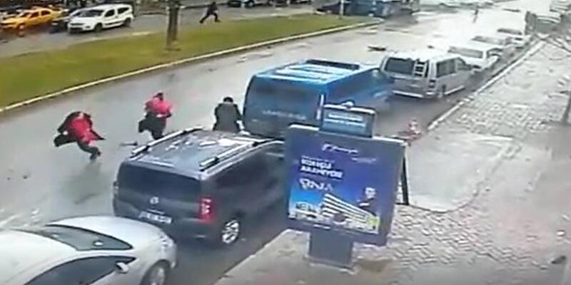 Teröristlerin arkasına saklandığı Jandarma aracında asker var mıydı?