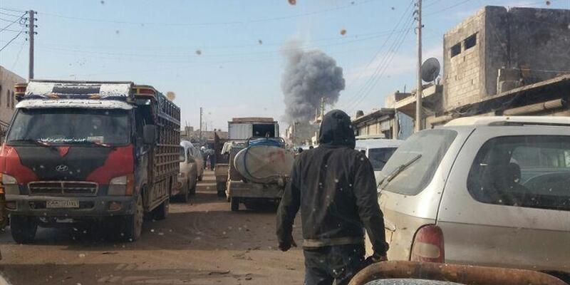 DEAŞ Azez'de bombalı araçla saldırdı: 43 ölü