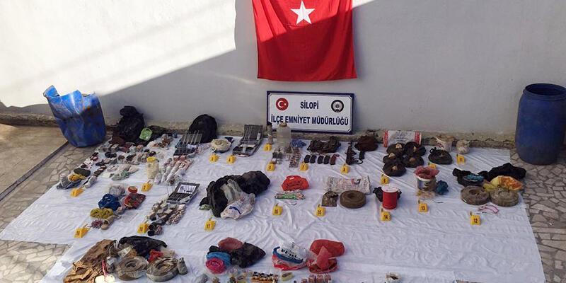 Silopi'de PKK'nın cephaneliği ortaya çıkarıldı