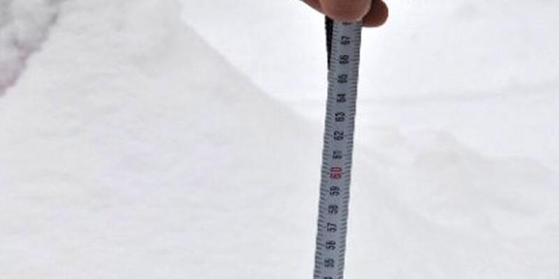 MGM kar kalınlıklarını açıkladı! Kar kalınlığının en fazla olduğu yer neresi?