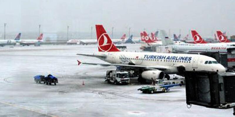 Sabiha Gökçen Havalimanı'nda pistler kapandı