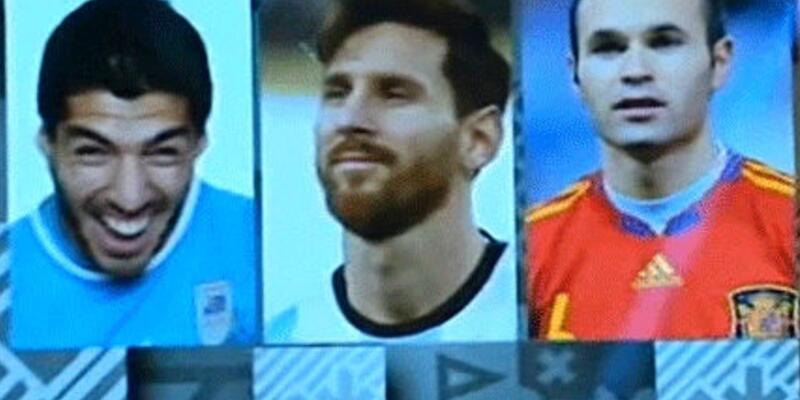 FIFA Luis Suarez'le 'dalga' geçti