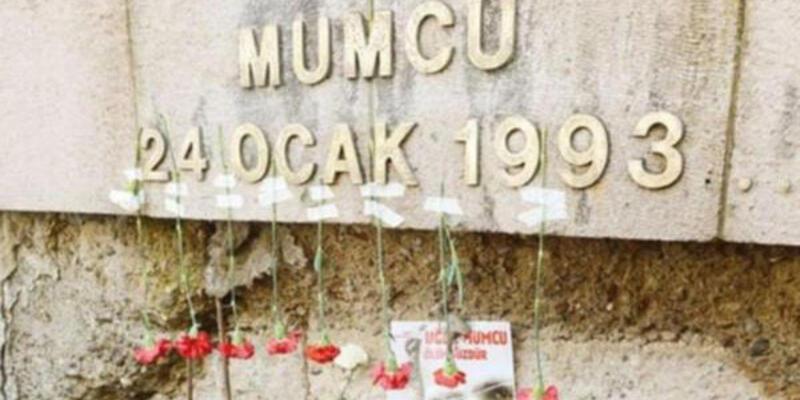 Uğur Mumcu Anıtı'na saldırı