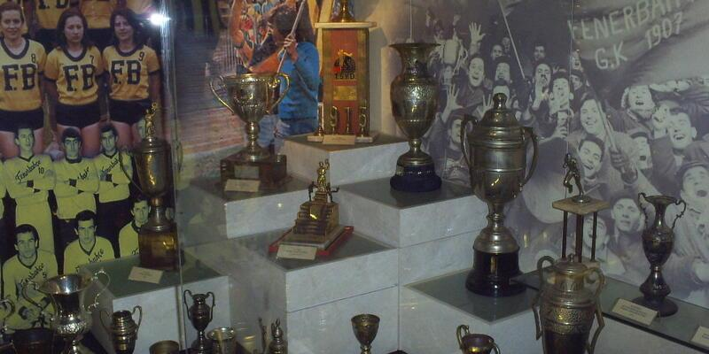Fenerbahçe Müzesi'nde şoke eden hırsızlık...